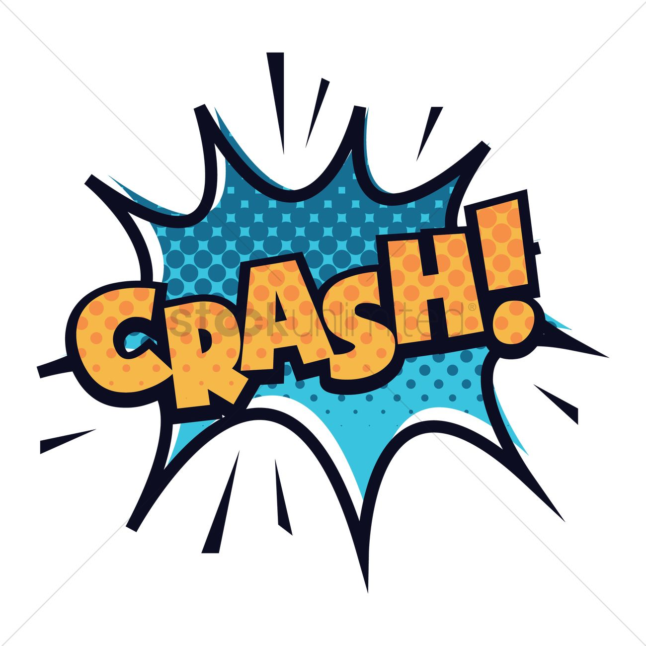 1300x1300 Crash Clipart Comic