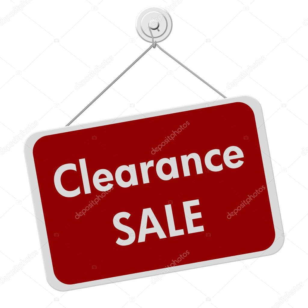 1024x1024 Clearance Sale Sign Stock Photo Karenr