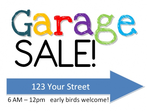 498x375 14 Best Garage Sale Images Free Printables, Yard