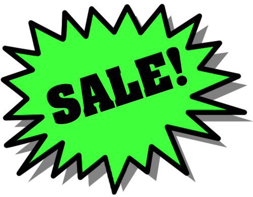 500x389 Sale Sign Clip Art