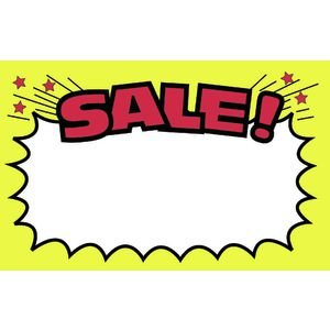 300x300 Sale Write On Sale Sign Cards 5 12 X 3 12, Pack Of 100