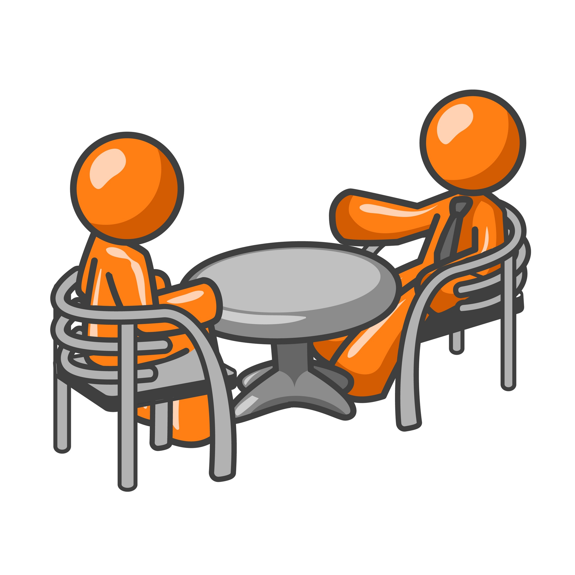 2236x2236 One On One Interview Clipart
