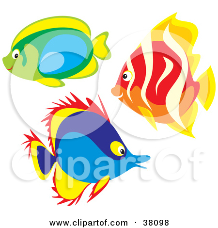 450x470 Group Of Fish Clipart