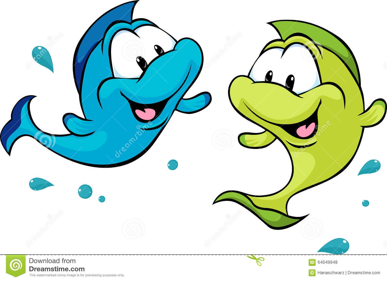 1300x947 Two Fish Clipart