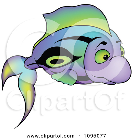 450x470 Clip Art Of Black And White One Fish Two Fish Red Fish Blue Fish