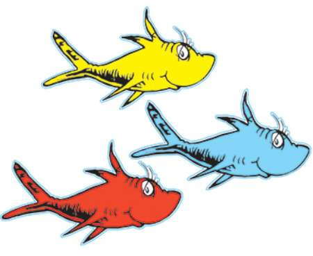 450x369 One Fish Two Fish Clip Art