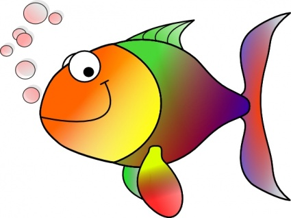 425x318 One Fish Two Fish Clip Art