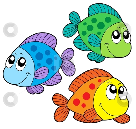 450x424 Two Fish Clipart