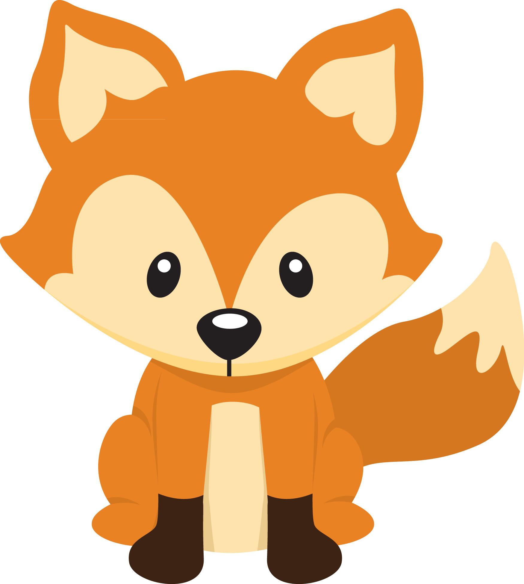 1750x1950 Cartoon Fox Clipart