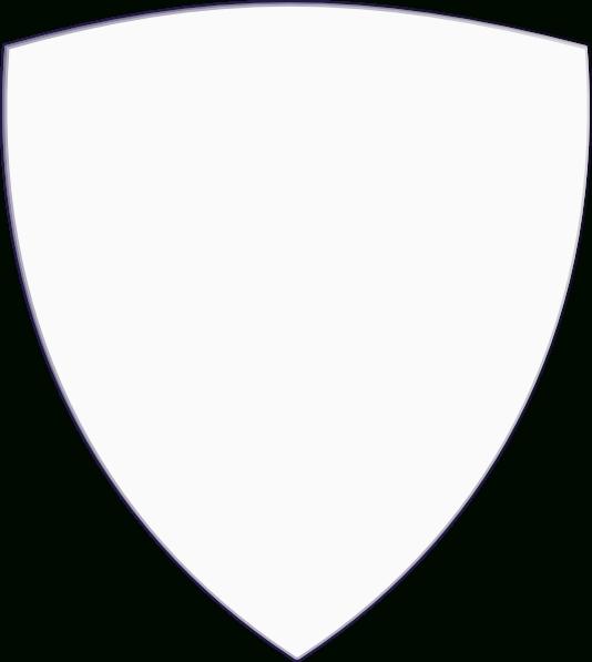 534x597 Blank Shield Clip Art