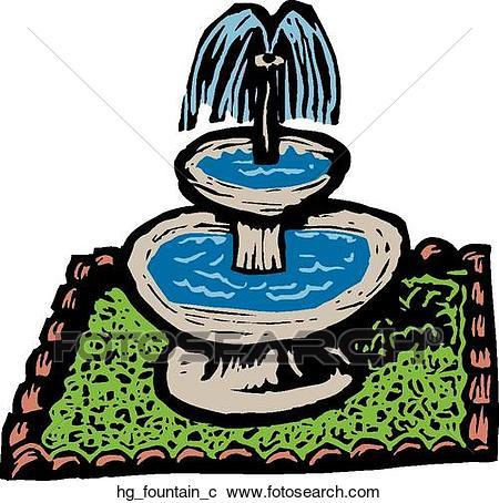 450x454 Fountain Clipart Fountain Clip Art Vector Graphics 4628 Fountain