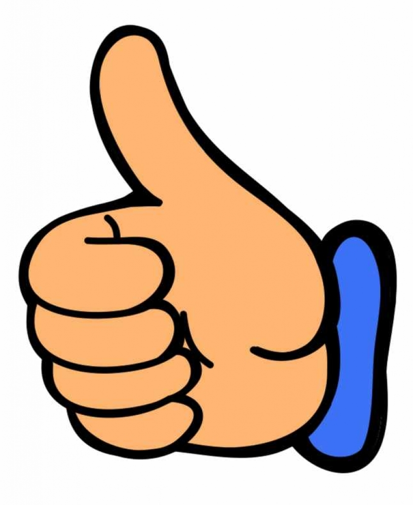 838x1024 Thumbs Up Thumb Up Clip Art