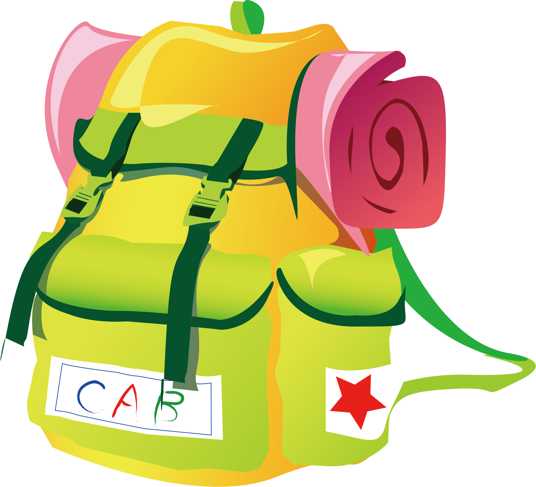 1720x1565 Clipart Travel Backpack