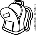 157x150 Open Backpack Clipart Clipart Panda