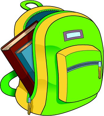 340x377 This School Backpack Clip Art Free Clipart Images 5