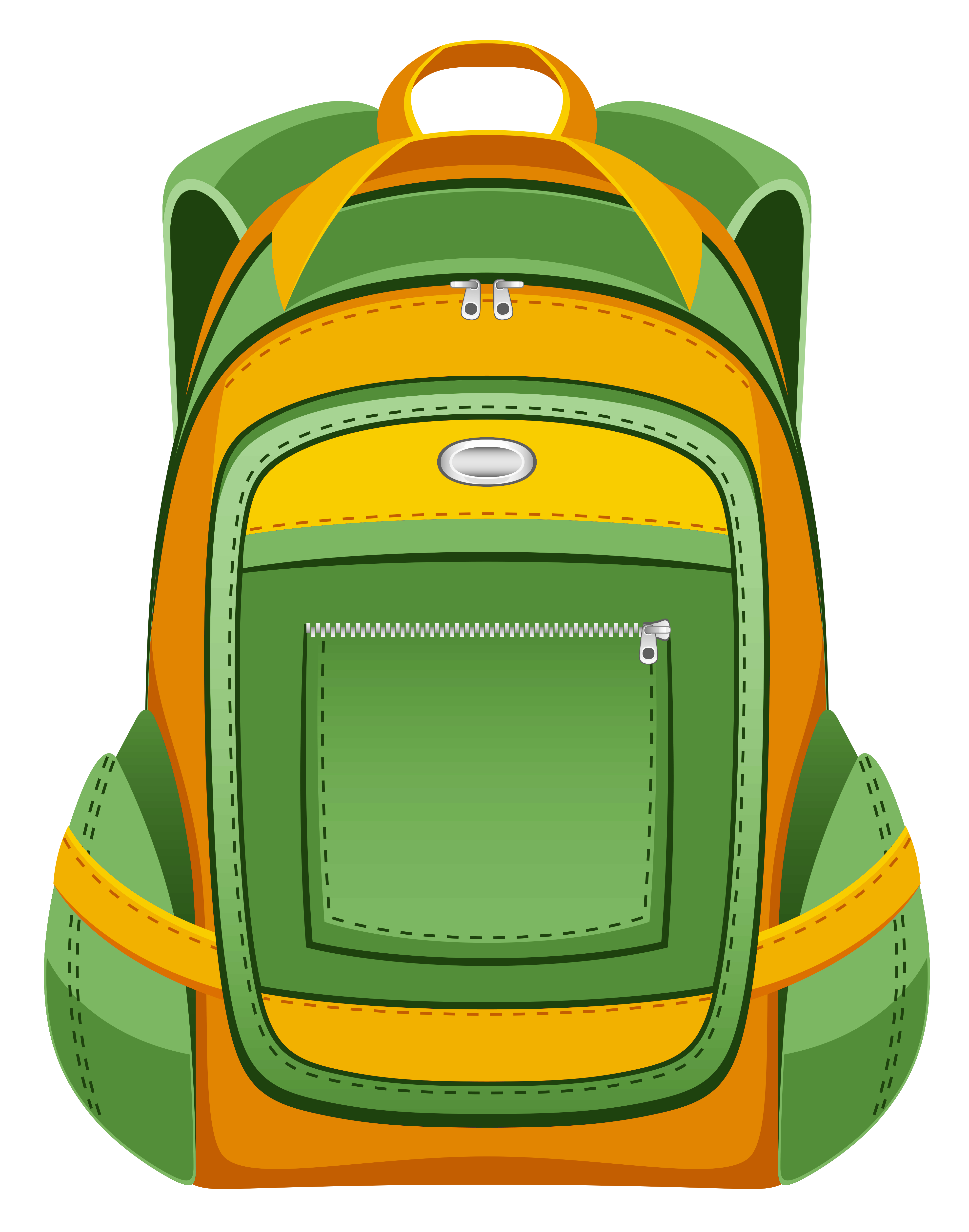 3924x4992 Backpack School Supplies Images Clip Art Clipartwiz