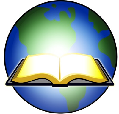 400x382 Image Open Bible Glowing Before Earth Bible Clip Art