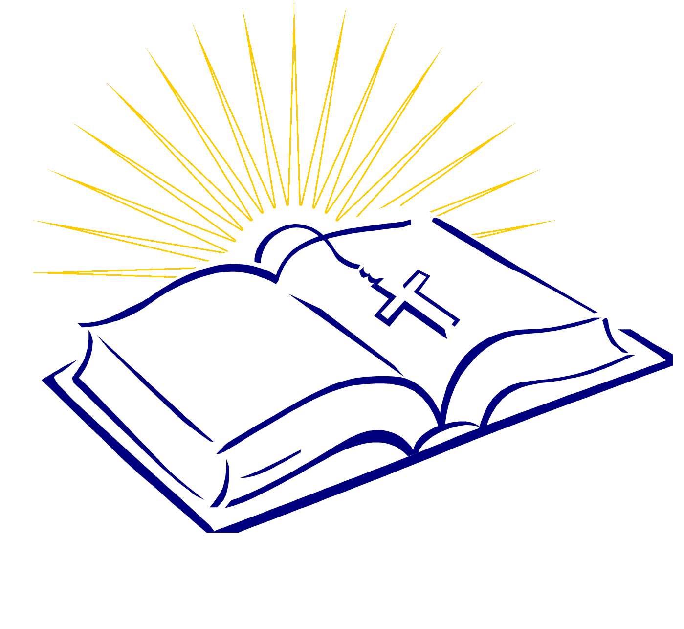 Christian bible. Open clipart free download