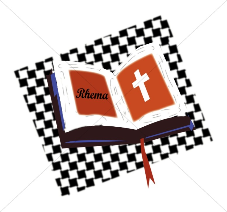 776x723 Open Bible On Checkered Pattern Bible Clipart