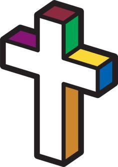 236x334 Open Bible With Cross Clip Art