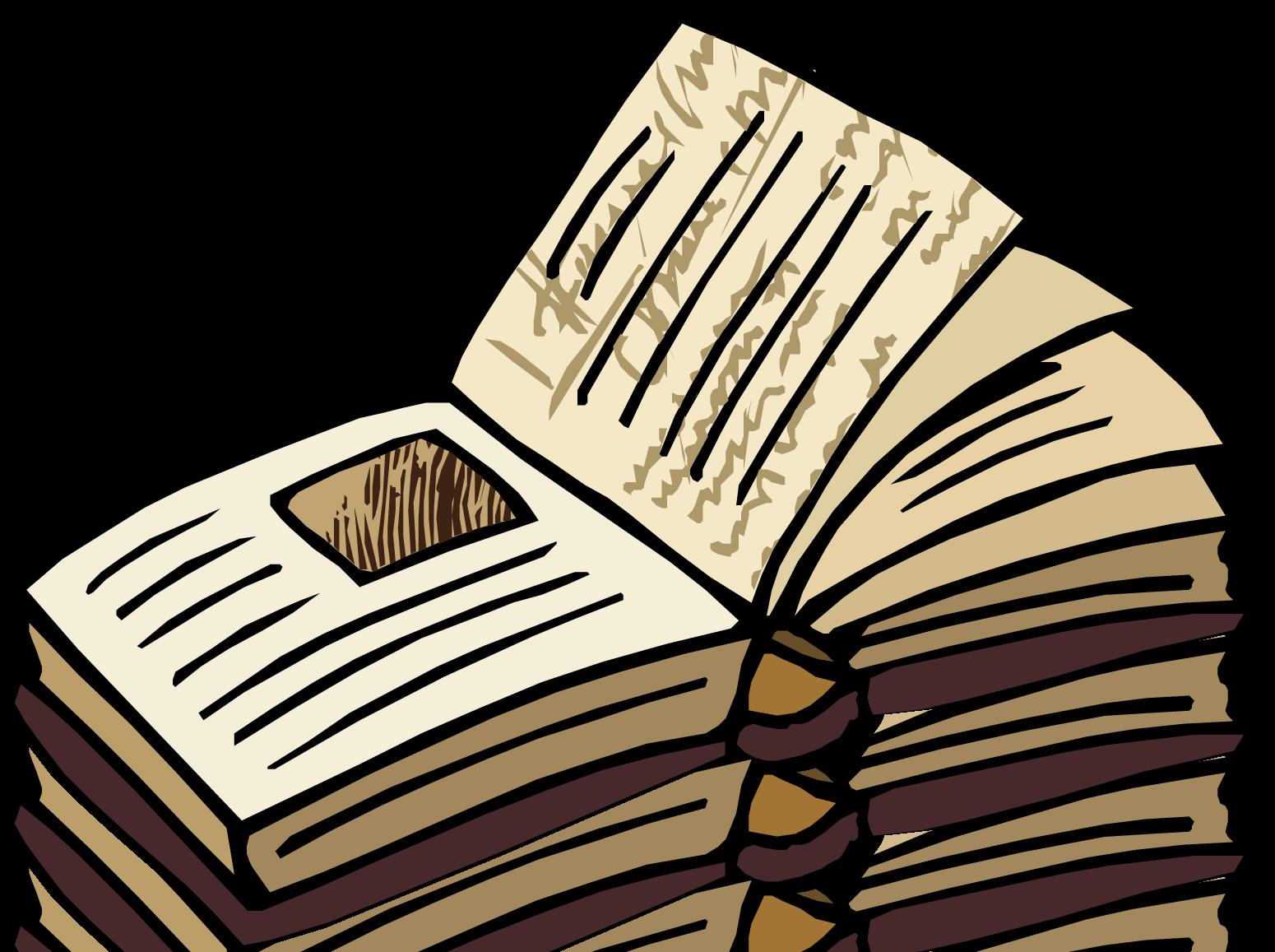 Open Book Clip Art Free