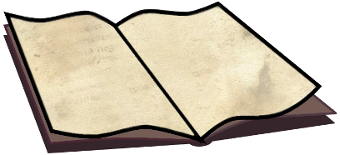 340x155 Free Open Book Clipart