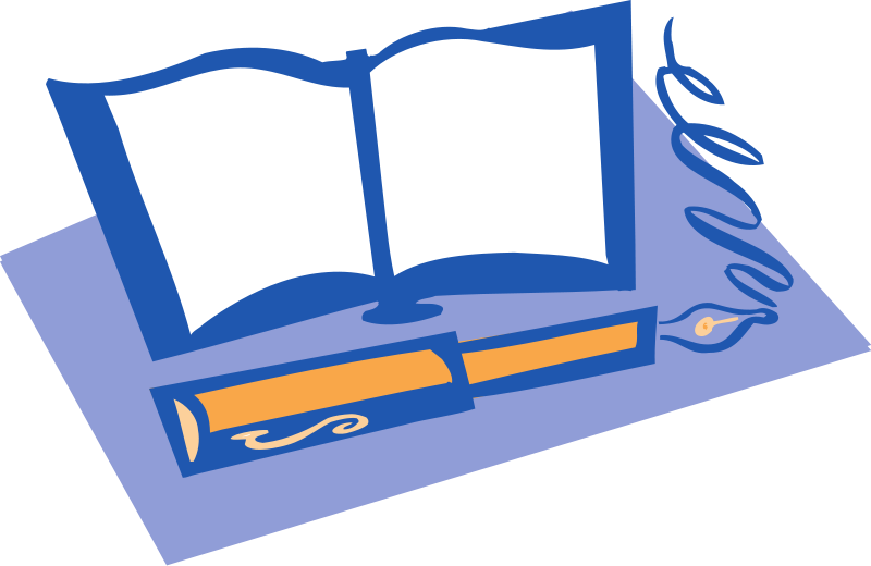 800x520 Image Of Open Book Clipart