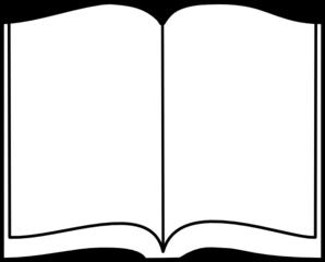 298x240 Open Book Clip Art