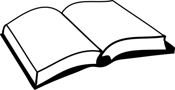 600x309 Open Book Clip Art Free Vector In Open Office Drawing Svg ( Svg