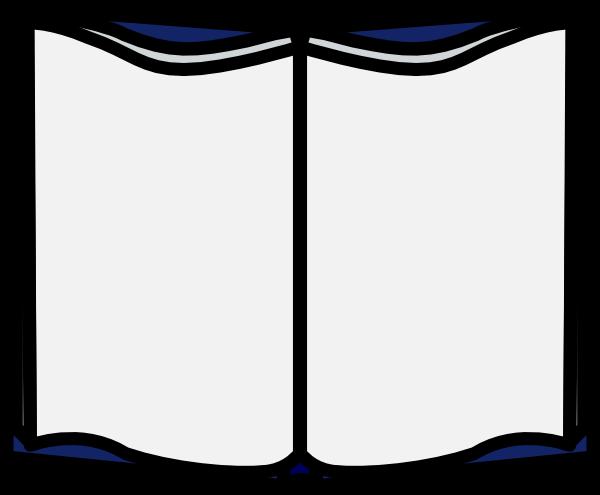 600x495 Open Book Clip Art Template Clipart Panda