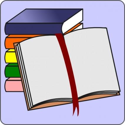 425x425 Open Book Clip Art 7 Image