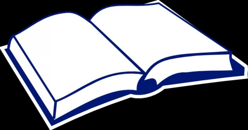 820x431 Open Book Clip Art
