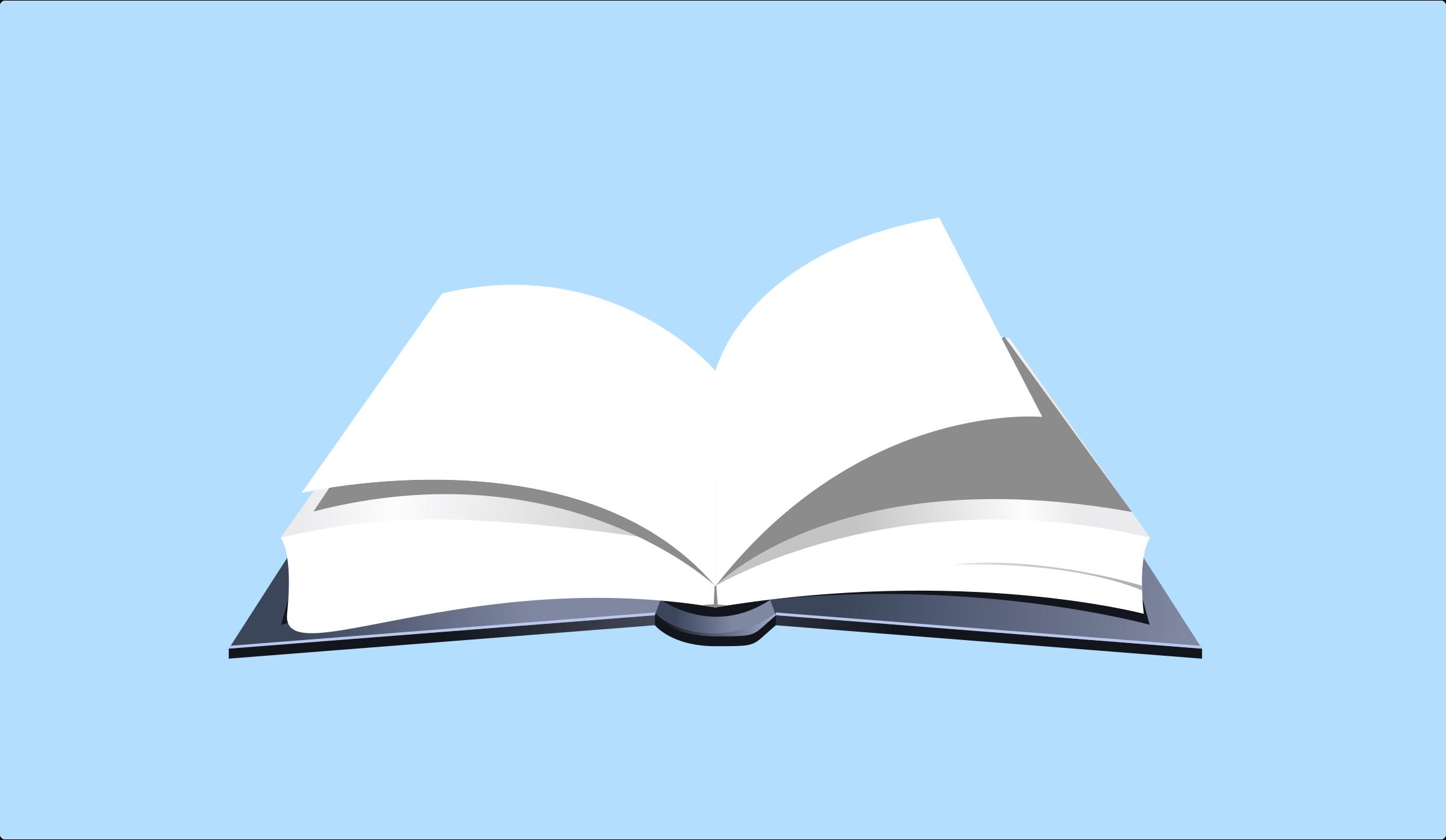 2400x1395 Open Book Openbook Art Clipart