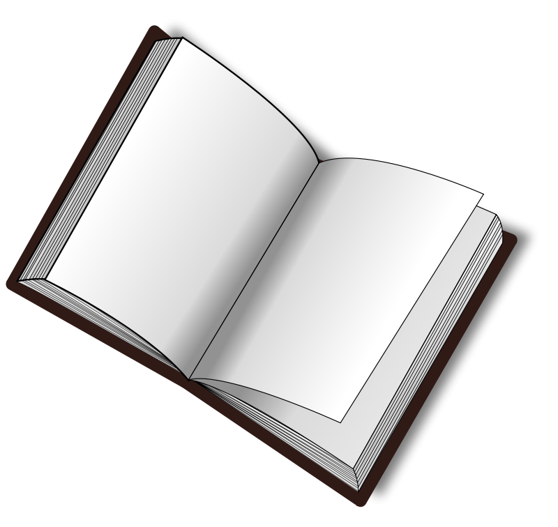 800x756 Book Free Stock Photo Illustration Of An Open Book