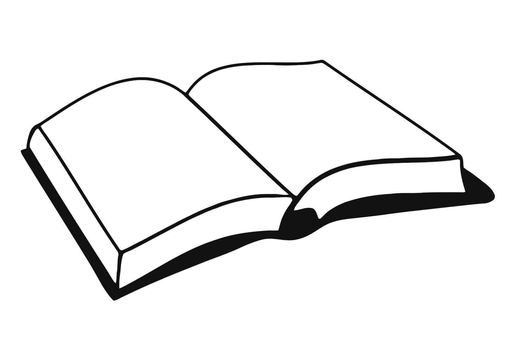 1750x1240 Book Coloring Pages