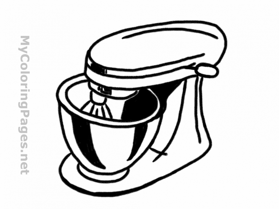 940x705 Open Book Coloring Page