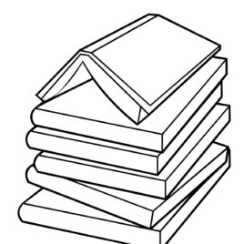 268x268 Open Book Coloring Page Free Printable Coloring Pages Coloring