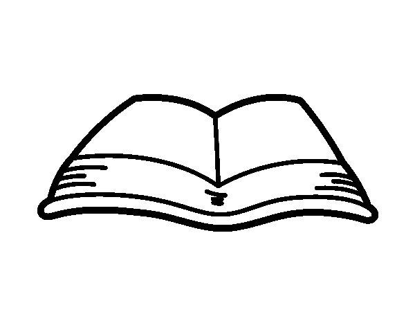 open book coloring pages - Vatoz.atozdevelopment.co