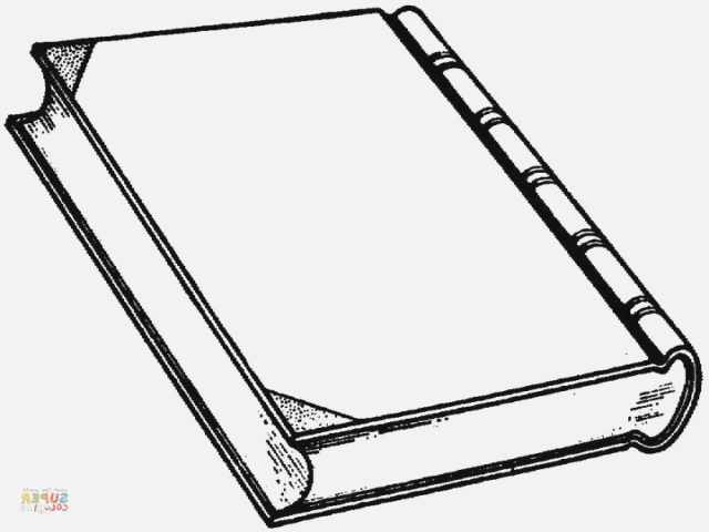 640x480 Book Coloring Page
