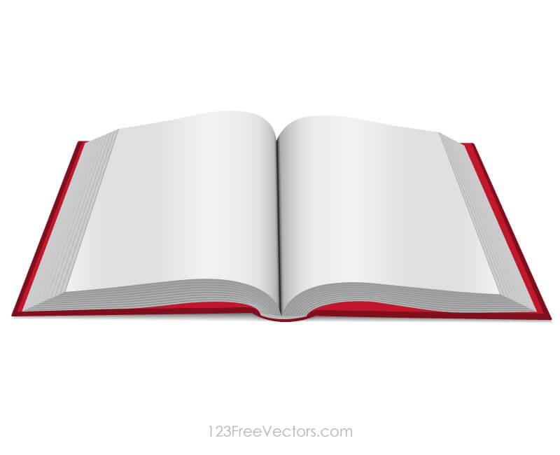 800x650 Open Book Clip Art Freevectors