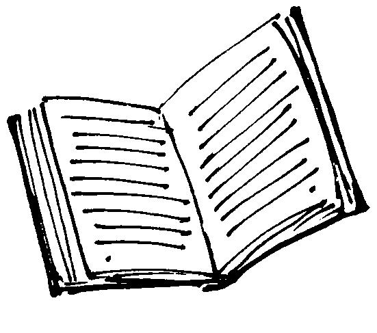 551x487 Book Line Art Clipart