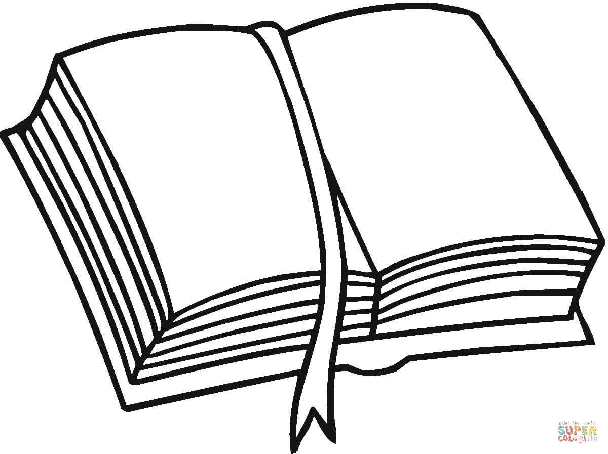 1200x897 Coloring Pages Of Books 521130