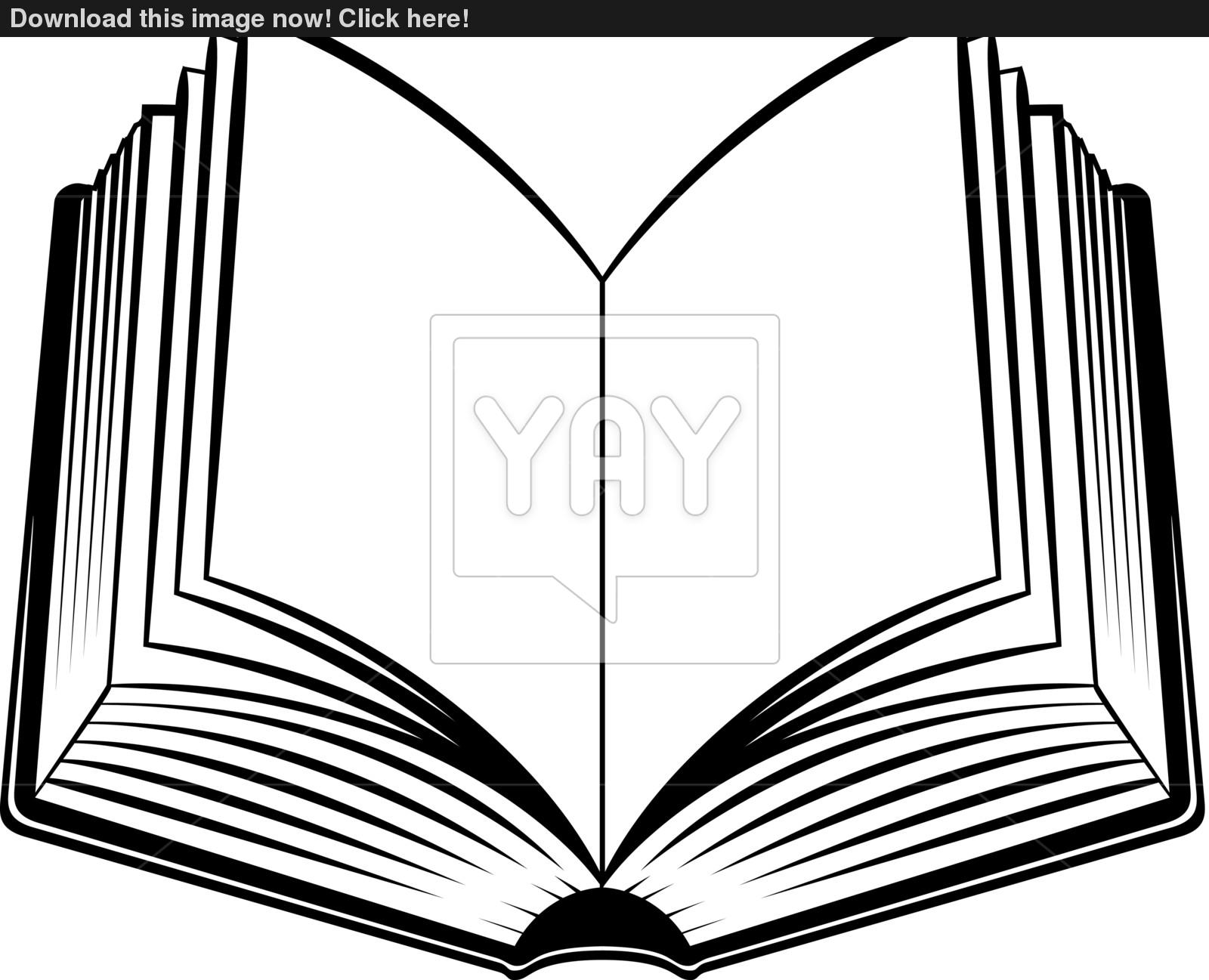 1600x1297 Here Clipart Open The Book