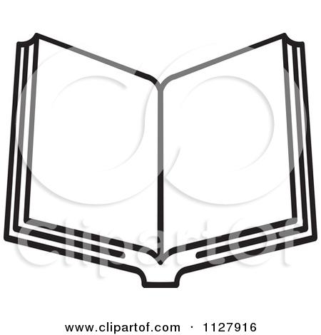 450x470 Open Book Clip Art Black And White