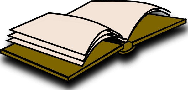 600x288 Open Book Icon Clip Art Free Vector In Open Office Drawing Svg