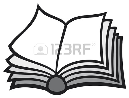 450x342 Open Book Royalty Free Cliparts, Vectors, And Stock Illustration
