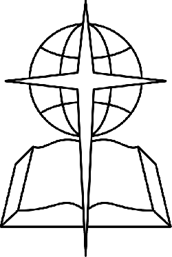 250x373 Outline, Cross, Open, Book, Bible, Religious, Southern
