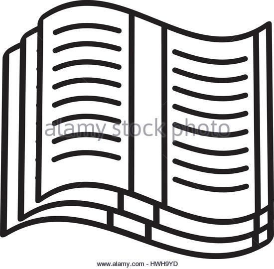 550x540 Book Vector Outline Stock Photos Amp Book Vector Outline Stock