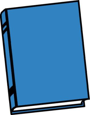 314x400 Blank Book Clipart