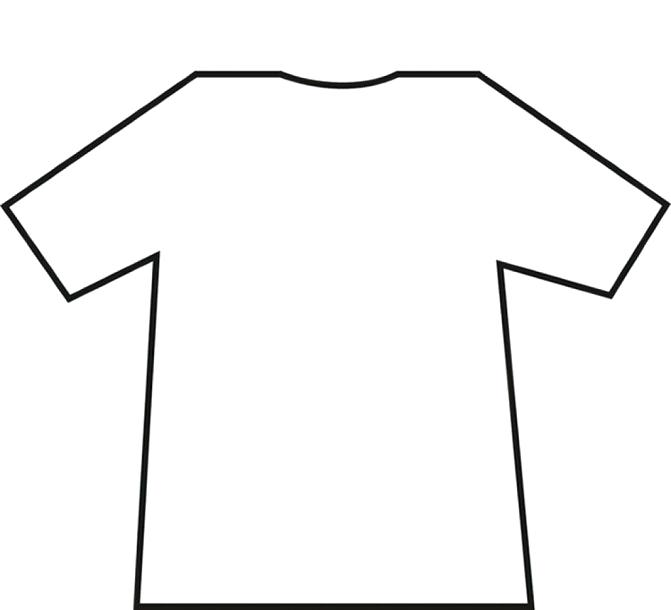 671x610 T Shirt Drawing Template Clip Art Free Vector In Open Office